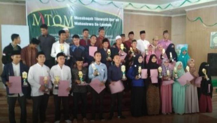 Mahasiswa UNU NTB Juara MTQ Se-Pulau Lombok