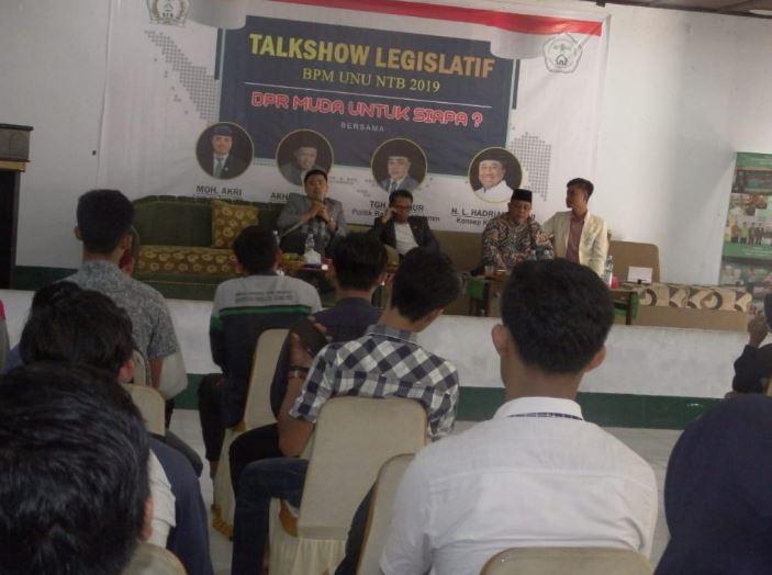 Talk Show Legislatif BPM UNU NTB