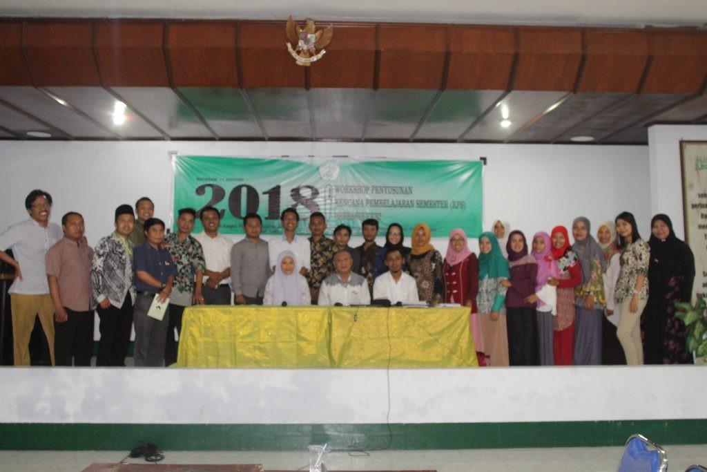 Workshop Penyusunan RPS Berbasis KKNI