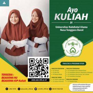 Universitas Nahdlatul Ulama NTB – Support Campaign | Twibbon