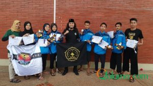 Selamat dan Sukses Kepada UKM Pencak Silat Pagar Nusa UNU NTB Raih Juara Di Kejurnas PSNU di Jakarta