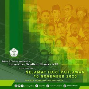 Selamat Hari Pahlawan Nasional 2020